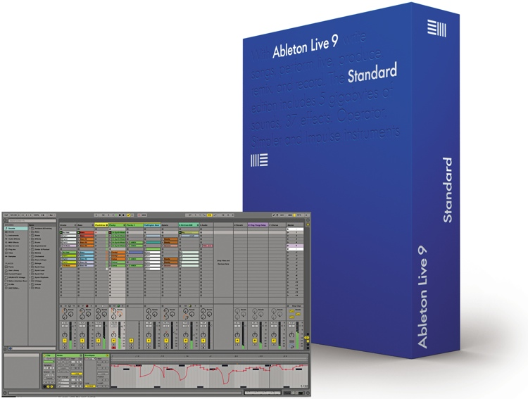 Ableton Live 9 Standard - Upgrade from Live Lite (boxed) image 1