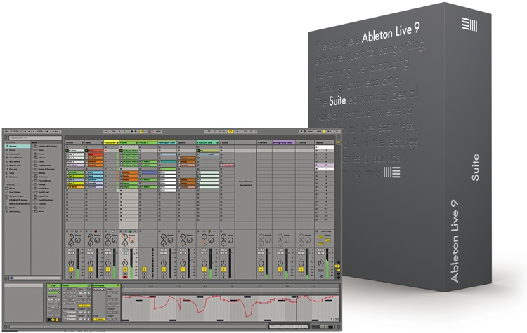 Ableton Live 9 Suite - Upgrade from Live Intro (boxed) image 1