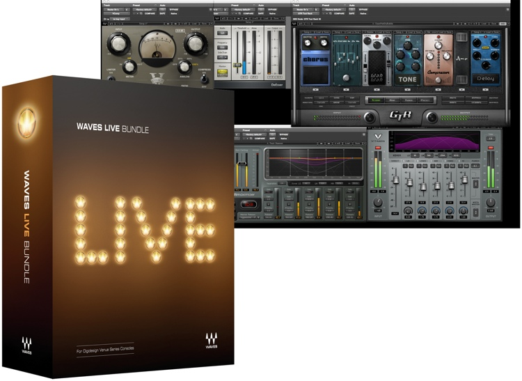 Waves Live Bundle for Academic Institutions image 1