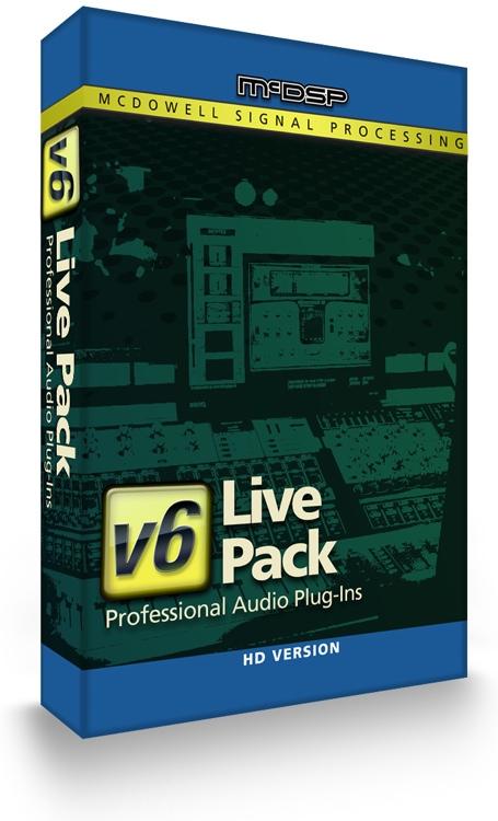 McDSP Live Pack v6 HD Plug-in Bundle image 1