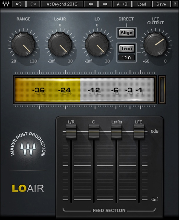 Waves LoAir Plug-in image 1