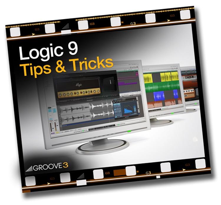 Groove3 Logic 9 Tips & Tricks Vol 1 image 1