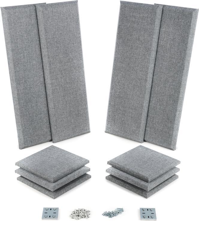 primacoustic london 8 gray sweetwater. Black Bedroom Furniture Sets. Home Design Ideas
