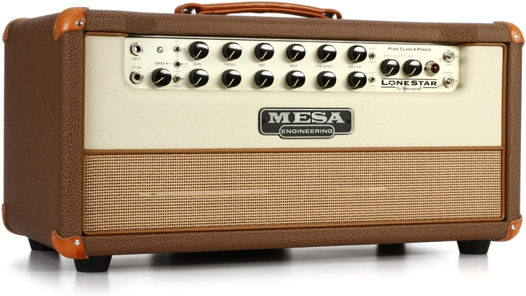Mesa/Boogie Lone Star Special 30-watt Tube Head - Cocoa with Tan Grille image 1