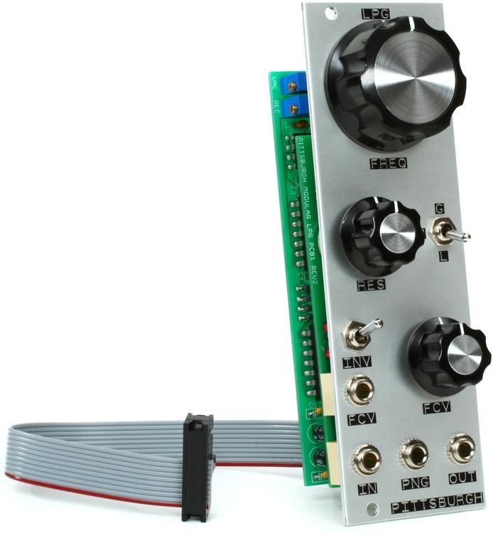 Pittsburgh Modular LPG Lopass Gate Eurorack Filter/VCA Module image 1