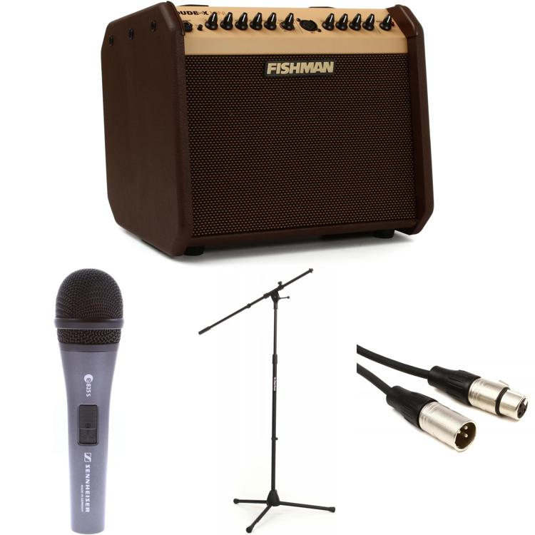 Fishman Loudbox Mini Songwriter Package with Mic, Stand, Cable image 1