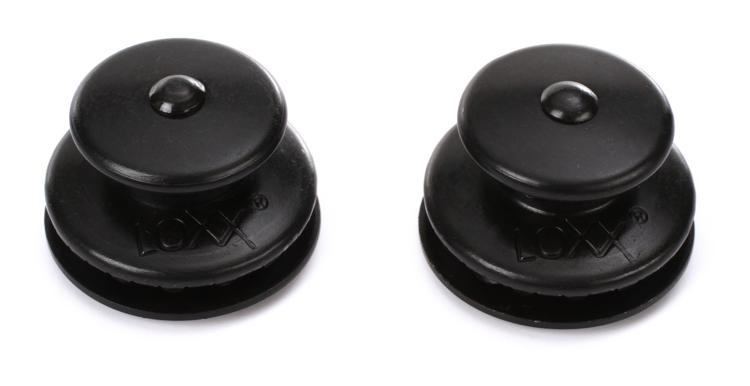 Loxx Strap Lock System for Guitar or Bass - Black Finish image 1