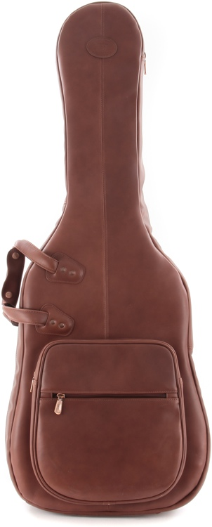 Reunion Blues Classic Leather - Solid Body, Chestnut Brown image 1