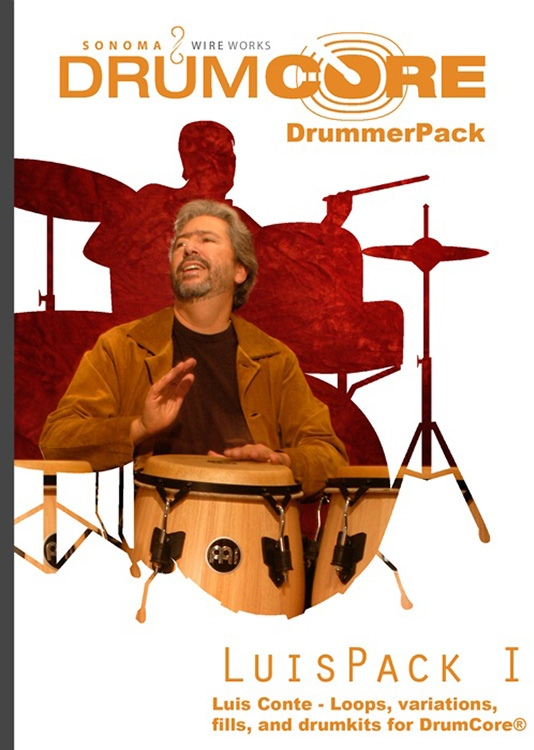 Sonoma Wire Works DrummerPack Expansion - Luis Conte vol 1 image 1