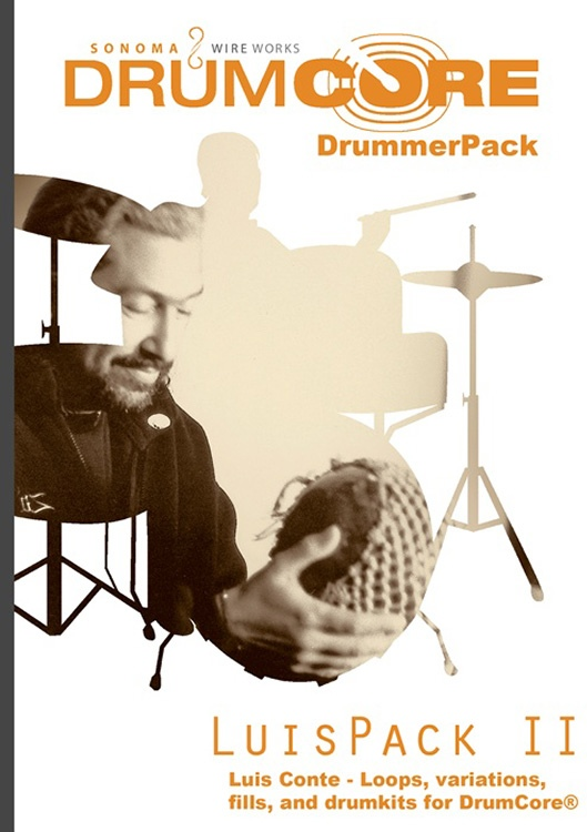 Sonoma Wire Works DrummerPack Expansion - Luis Conte vol 2 image 1