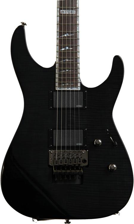 ESP LTD M-1000FM - See Thru Black image 1