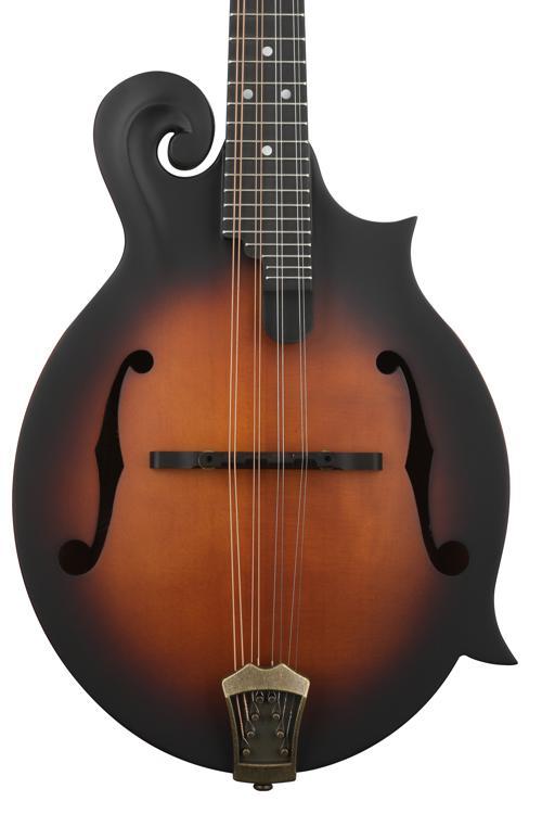 Washburn M108SW Florentine Cutaway Mandolin - Vintage Natural image 1