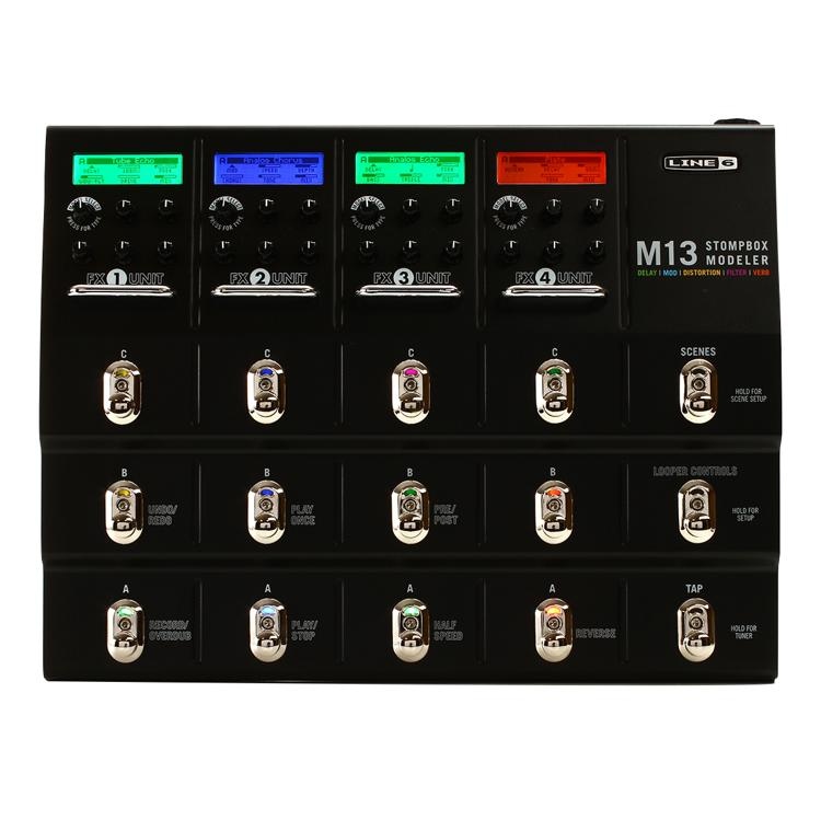line 6 m13 stompbox modeler pedal sweetwater