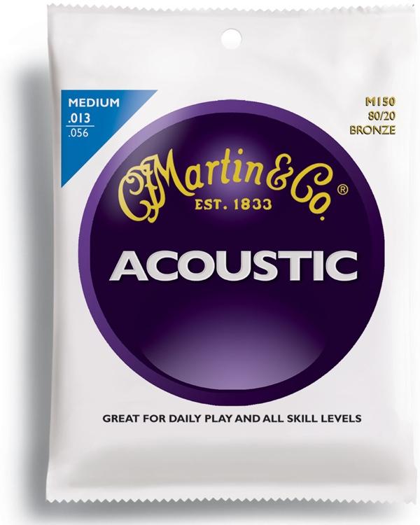 Martin M-150 80/20 Bronze Medium Acoustic Strings image 1