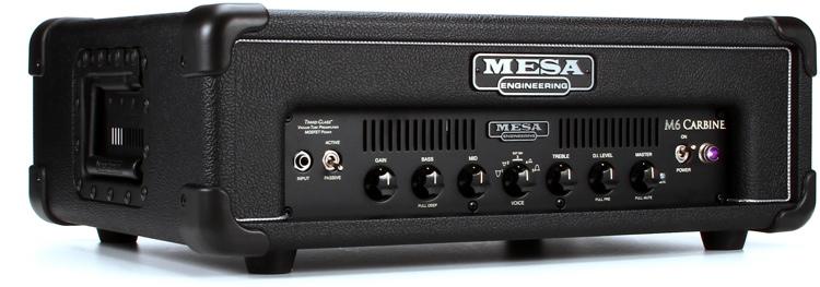 Mesa/Boogie M6 Carbine 600 Watt Bass Head - Standard image 1