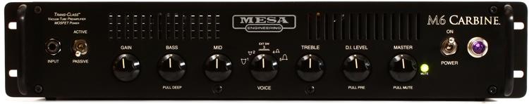 Mesa/Boogie M6 Carbine 600-Watt Bass Head - Rackmount image 1
