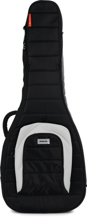 MONO M80 Dual Acoustic & Electric Hybrid Guitar Gig Bag - Black image 1
