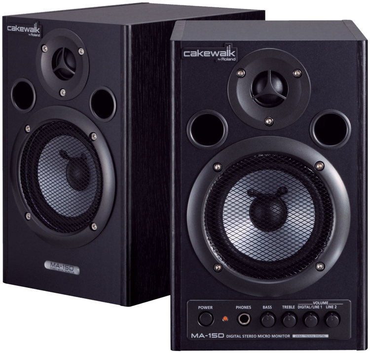 Acoustic Research Studio Monitor : Roland ma d bk black sweetwater