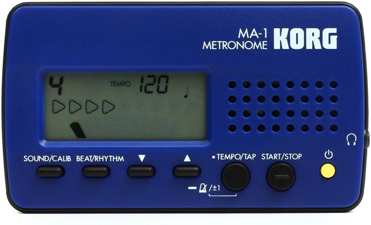 Korg MA-1 Compact Metronome - Blue image 1