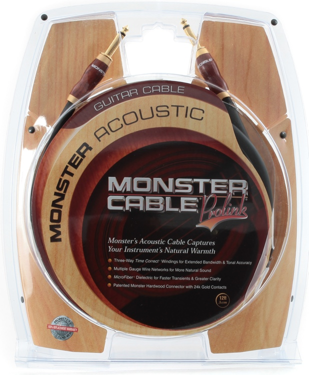 Monster 600355 Acoustic Instrument Cable - 12\' image 1