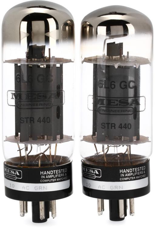 Mesa/Boogie 6L6 STR 440 Power Tubes - Matched Duet image 1