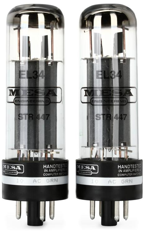 Mesa/Boogie EL-34 STR 447 Power Tubes - Matched Duet image 1