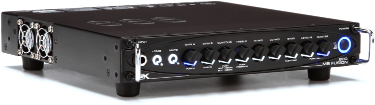 Gallien-Krueger MB Fusion 800 800-Watt Ultra Light Hybrid Micro Bass Head image 1