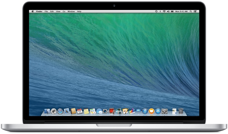 Apple MacBook Pro 13-inch with Retina Display 2.4GHz Dual-core Intel Core i5, 256GB image 1