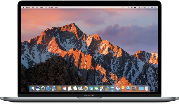 Apple MacBook Pro 15-inch with Touch Bar - 2.7GHz Quad-core Intel Core i7, 512GB - Space Gray image 1