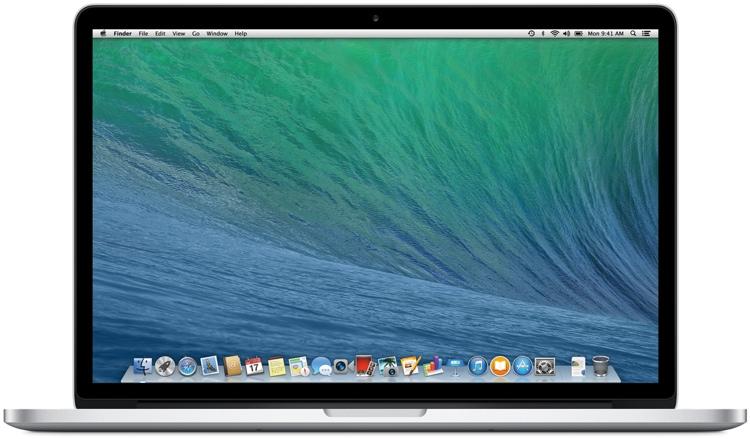Apple MacBook Pro 15-inch with Retina Display 2.0GHz Quad-core Intel Core i7, 256GB image 1
