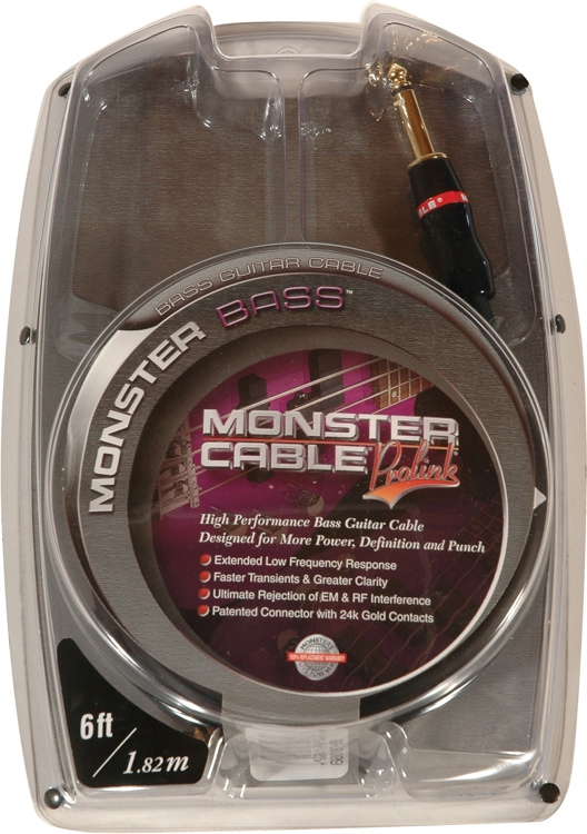 Monster Bass Instrument Cable - 6\' image 1