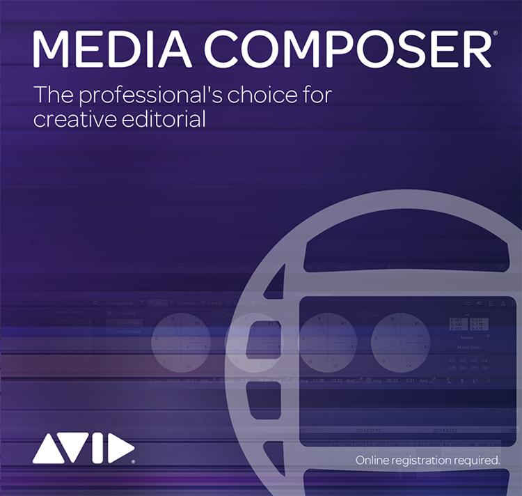 Avid Media Composer Software - Academic Software Floating Site License 50 Pack image 1
