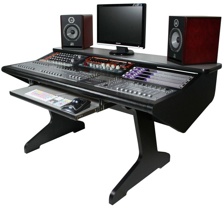 Malone Design Works MC Desk - Black image 1