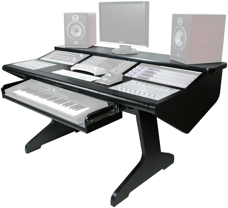 Malone Design Works MC Desk Composer - Black image 1