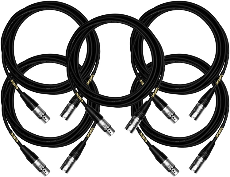 Mogami Coreplus Microphone Cable 5 Pack