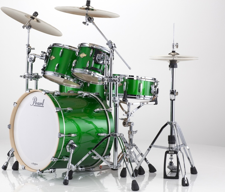 Pearl Masters MCX 4-Piece Shell Pack - Shamrock Green image 1