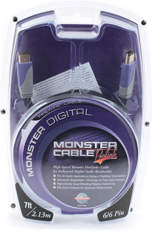 Monster Firelink Cable - 7\', 6-6 Pin image 1