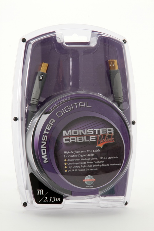 Monster USB Cable - 7\' image 1