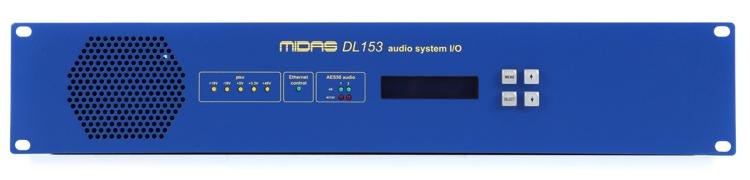 Midas DL153 PRO SERIES 16-input / 8-output Stage Box image 1