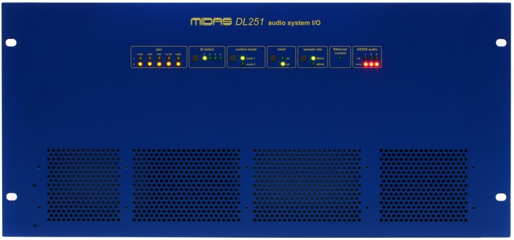 Midas DL251 PRO SERIES 48-input / 16-output Stage Box image 1