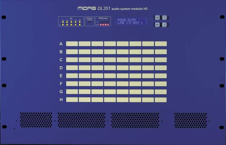 Midas PRO SERIES DL351 Modular Stage Box image 1