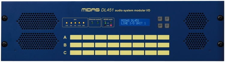 Midas PRO SERIES DL451 Modular Stage Box image 1