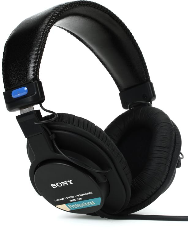 sony mdr 7506 closed back professional headphones sweetwater. Black Bedroom Furniture Sets. Home Design Ideas