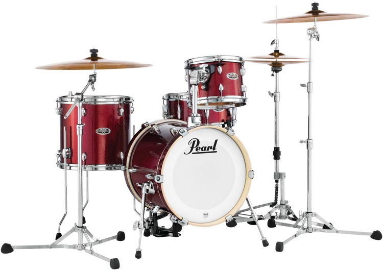 Pearl Midtown Series Shell Pack - 4-pc - Black Cherry Glitter image 1
