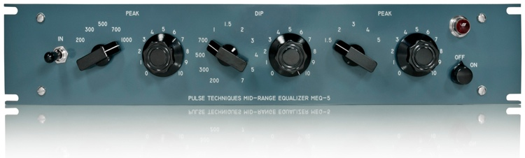 Pultec MEQ-5-SS EQ with API Gain Stage image 1