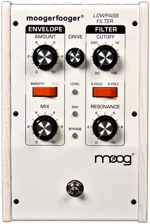 Moog Moogerfooger MF-101 Lowpass Filter - Limited Edition White-on-White image 1