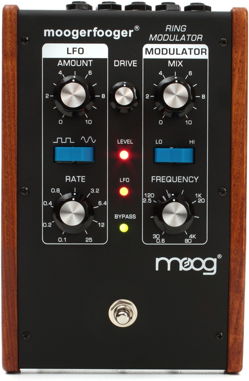 Moog Moogerfooger MF-102 Ring Modulator - Black image 1