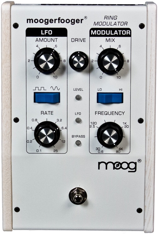 Moog Moogerfooger MF-102 Ring Modulator - Limited Edition White-on-White image 1