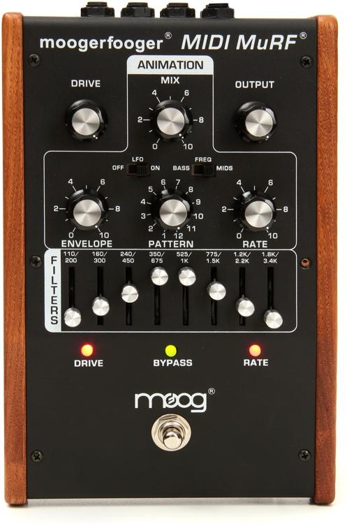 Moog Moogerfooger MF-105M MIDI MuRF - Black image 1