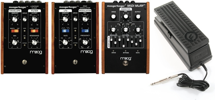 Moog Moogerfooger All-In-One Pack with MF-101, MF-102, and MF-105M image 1
